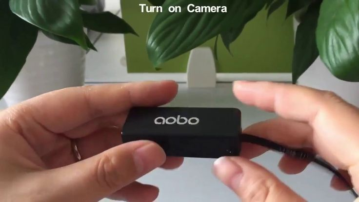 Smallest spy camera wireless : AOBO Hidden Spy Camera