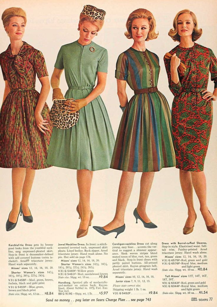 1960s Women Fashion Trends The Image Kid Has It