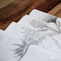 Place Mats: 4 designs