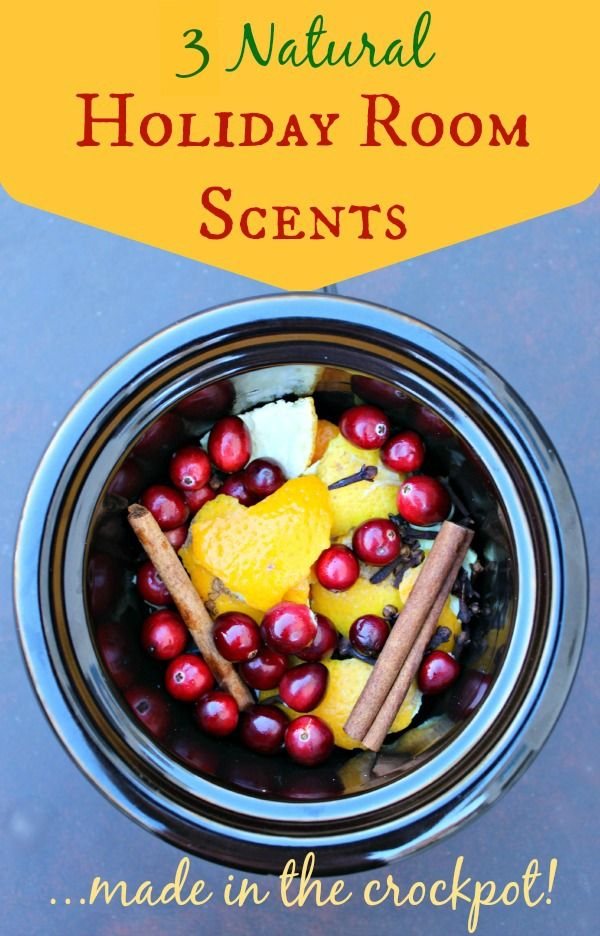 3 natural holiday room scents made in crockpot - I did this last year and loved it. | Primally Inspired
