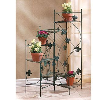 10. IVY-DESIGN STAIRCASE PLANT STAND By Verdugo Gift