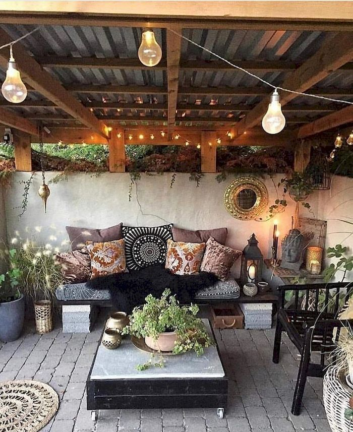 39 Creative Outdoor Rooms Ideas To Upgrade Your Outdoor Space Patio Decor Outdoor Rooms Patio Design