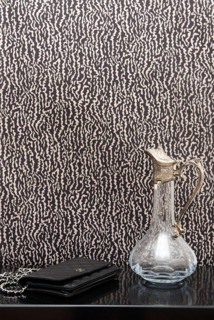 arp ge coloris gianduja papier peint le noir c 39 est chic luxe d coration d 39 int rieur. Black Bedroom Furniture Sets. Home Design Ideas