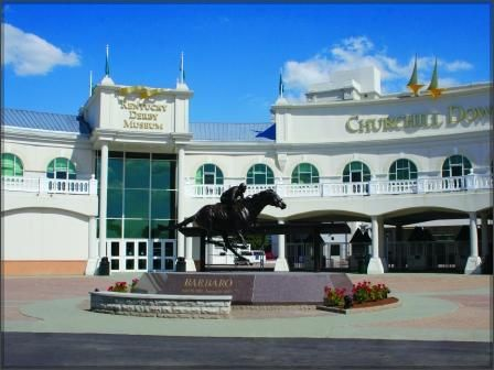 """There's Only One....Kentucky Derby Museum.    Located at Gate 1 of historic Churchill Downs, the Museum presents the traditions and excitement of the """"greatest two minutes in sports."""" Highlights include 2 floors of interactive, horse racing-related exhibits, a 360-degree high-definition video presentation and a walking tour of Churchill Downs. #onlyonekentucky"""