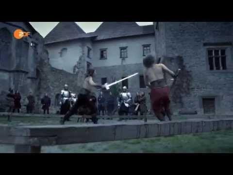 """Ein halbes Jahrtausend beherrschten die Ritter das Kriegsgeschehen, aber im 16. Jahrhundert ging mit Maximilian I. das Zeitalter der """"Männer in Eisen"""" zu Ende. 3. Folge von """"Die Welt der Ritter"""""""