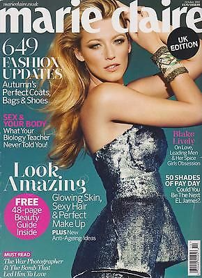 MARIE CLAIRE UK MAGAZINE OCT 2012649 FASHION UPDATES 48-PAGE BEAUTY GUIDE   eBay