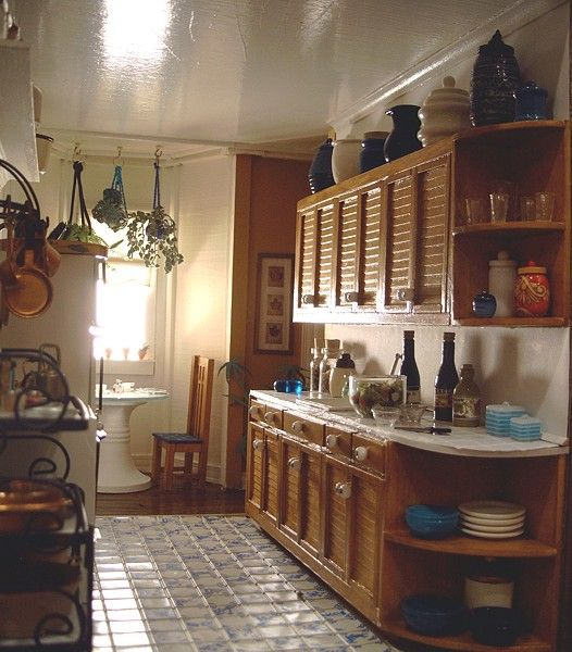 225 Best The Miniature Kitchen Images On Pinterest: Dollhouse Number 5 - The San Franciscan