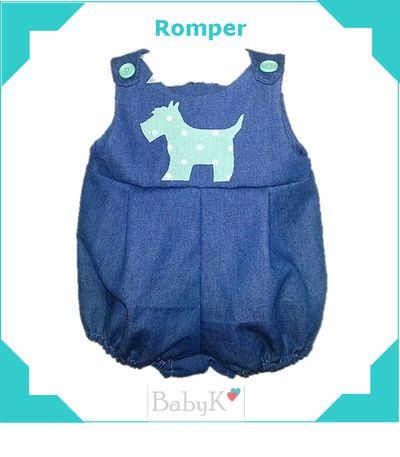 Little baby boy Romper by BabyK.