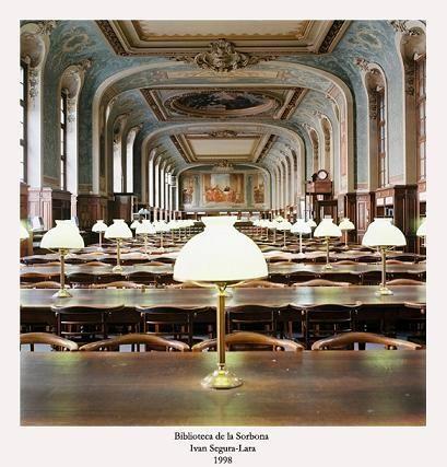Biblioteca de La Sorbona. París (Francia).