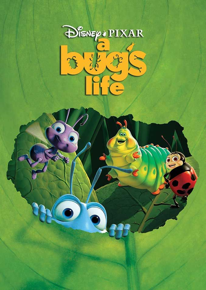 A Bug's Life I Original Pixar Animation Movie Posters