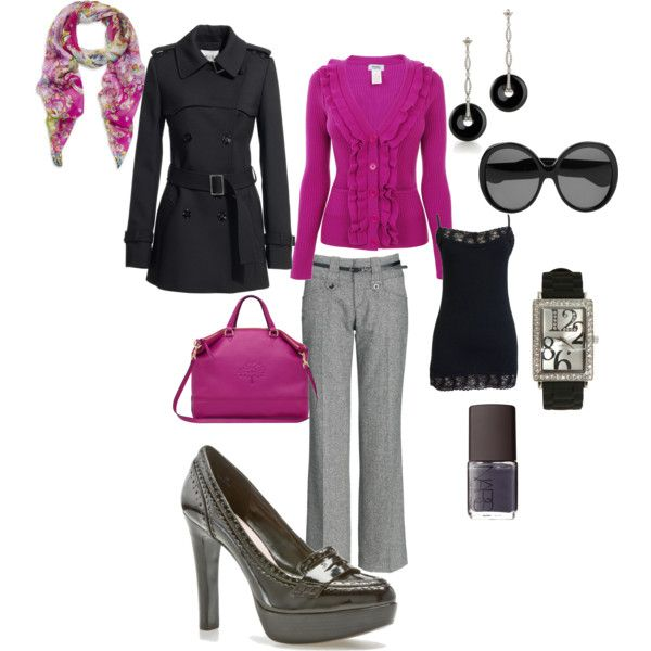 """Get to Work!""super chic para el trabajo!!"