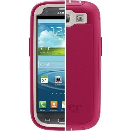 The Samsung Galaxy SIII Defender Series case is built with 3 layers of rugged protection so you don?Æt have to fear the inevitable misadventure or mishap. The two piece polycarbonate shell... More Details