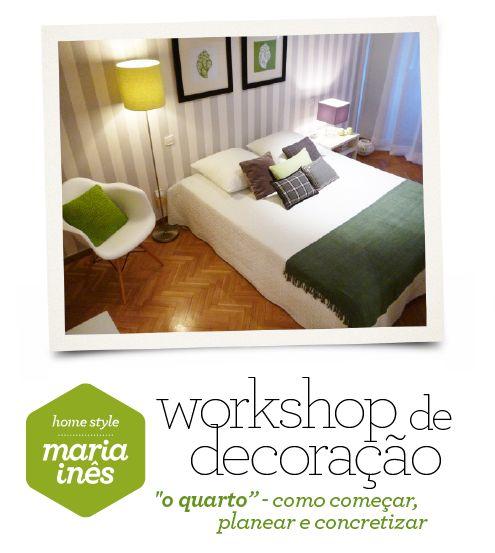 NOVA DATA: 24 de Outubro, das 18.30h às 21h. Inscrições aqui: http://www.cursos-artlier.com/workshops/decorar-e-planear