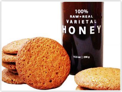 Buckwheat Honey & Ginger Cookies  http://beeraw.com/honey-recipes/buckwheat-honey-ginger-cookies