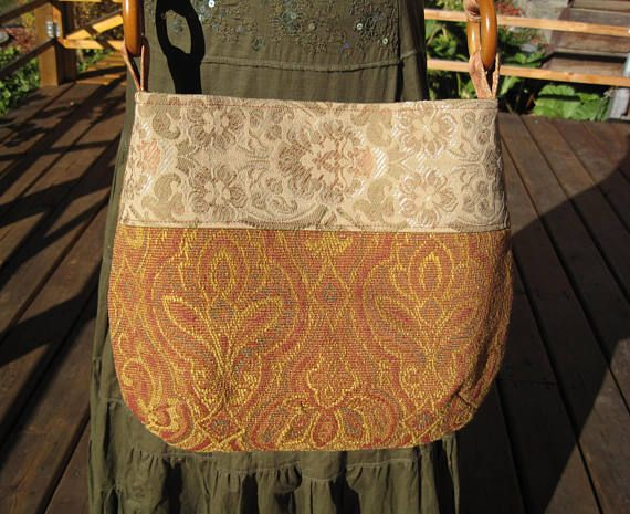 Lovely Vintage Boho Hippie Gypsy Messenger bag Tote Bag