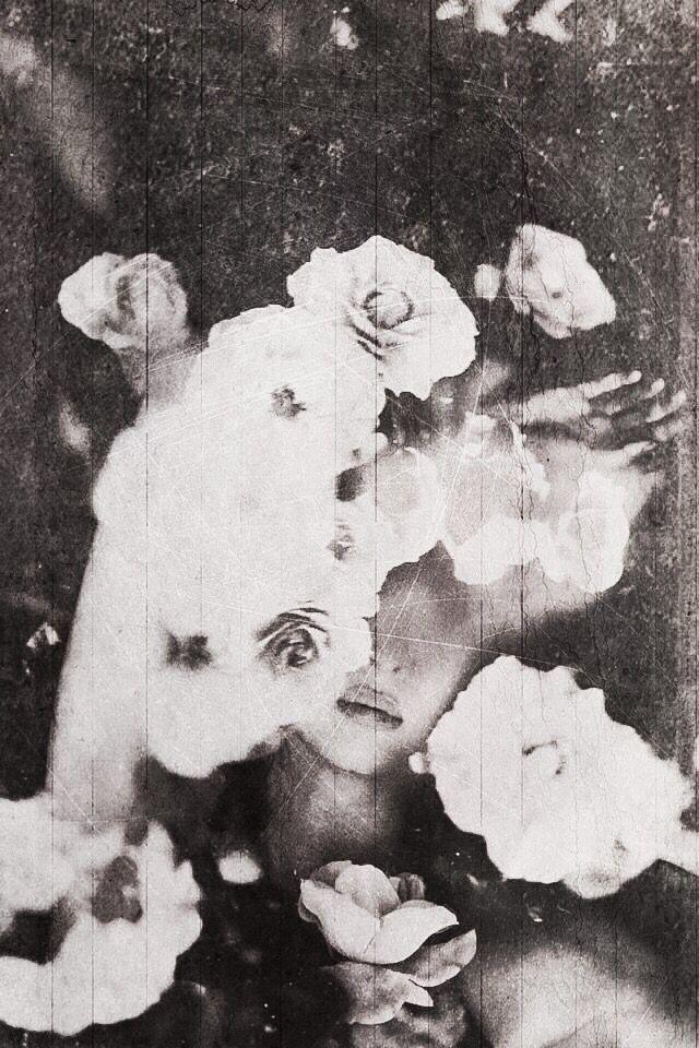 Dark Queen, Rimmel, Art Photography, Sadness, Floral, Muse