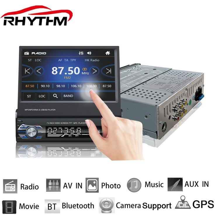 Rhythm 12V Car Stereo Bluetooth FM Radio MP5 Audio Player Phone USB/TF Radio In-Dash 1 DIN 7 inch 5 languages menu. Yesterday's price: US $61.77 (51.11 EUR). Today's price: US $61.77 (51.11 EUR). Discount: 28%.