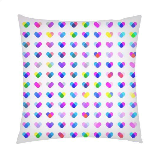 Multi Heart cushion   #fimbis #ArtRookie #hearts #colourful #valentines #style #styleblog #fashion #fashionblogger #fashionblog #styleblogger #cyan #cushion #magenta #valentinesday #cyan #pillow #ukdesign #irishdesign #irishart #fblogger #homedecor #home #softfurnishings #purple #interiors #interiordesign #dormlife