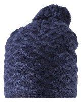 Dětská zimní čepice Reima Tupsu - navy