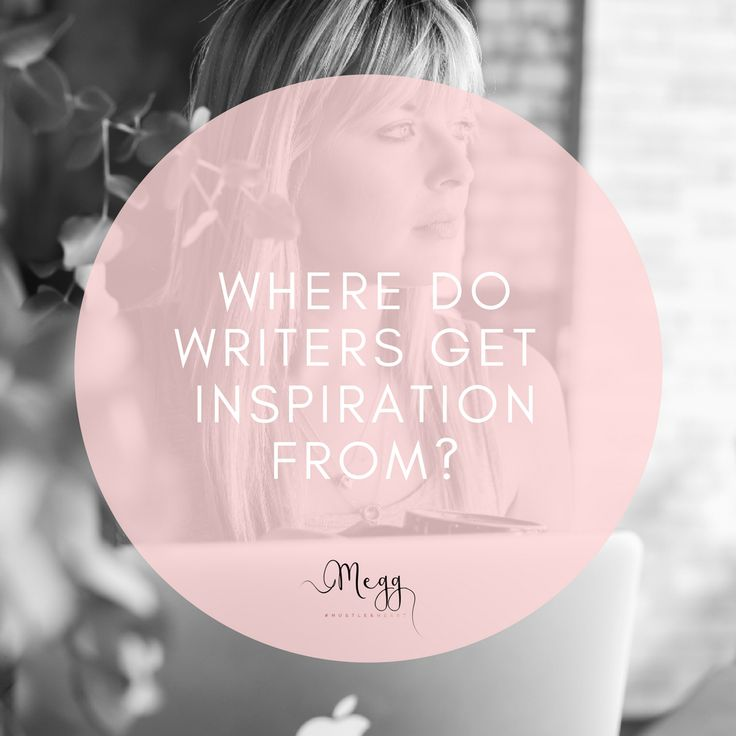 where do writers get inspiration from? Red rooms, people watching, newspapers?