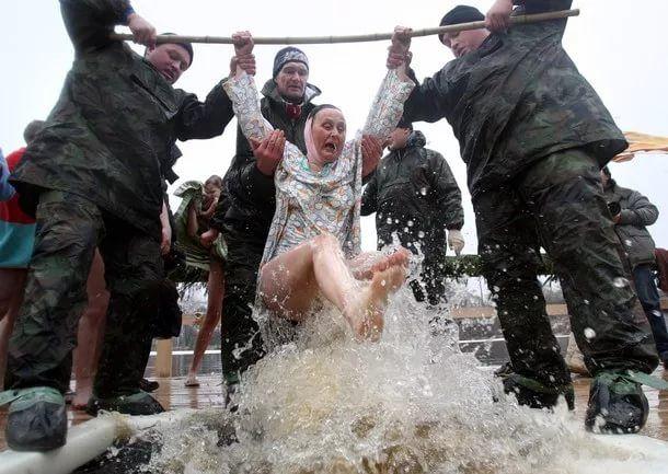 Прикольная картинка с крещением, открытки колян