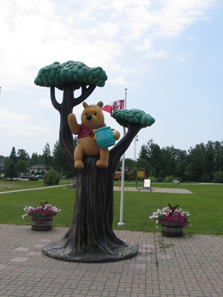 Winnie the Pooh, Whiteriver, Ontario (home of the real Winnie the bear)