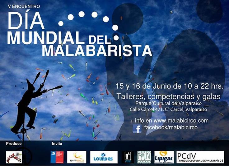 Dia Mundial del Malabarista en el PCdV  15 y 16 de junio