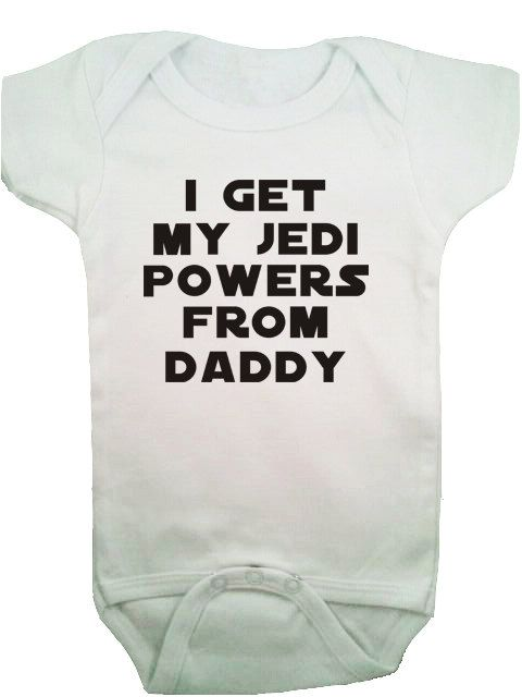 Star Wars baby :).We have to get one when we have a kid @Jess Pearl Liu Bittner