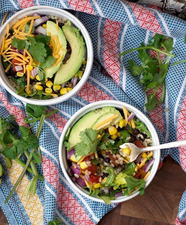 It's easy to make a Taco Bell Cantina Bowl at home with healthy ingredients.