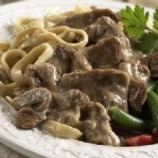 Beef Stroganoff With Peppered Spaetzle Recipes — Dishmaps
