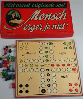 Mens erger je niet. We played this all the time!