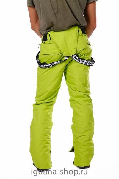 Горнолыжные брюки мужские зеленые