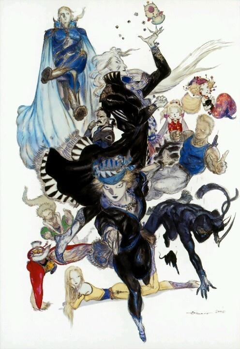 Final Fantasy 6, Kefka is the coolest villian ever!