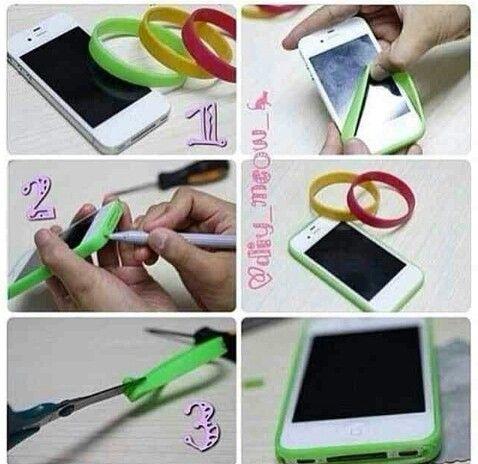 Homemade phone cases