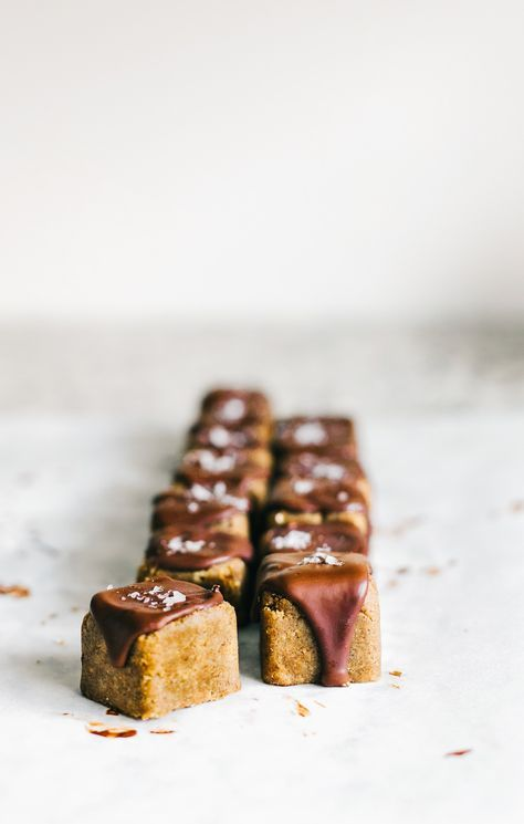 Chocolate Gingerbread Petit Fours