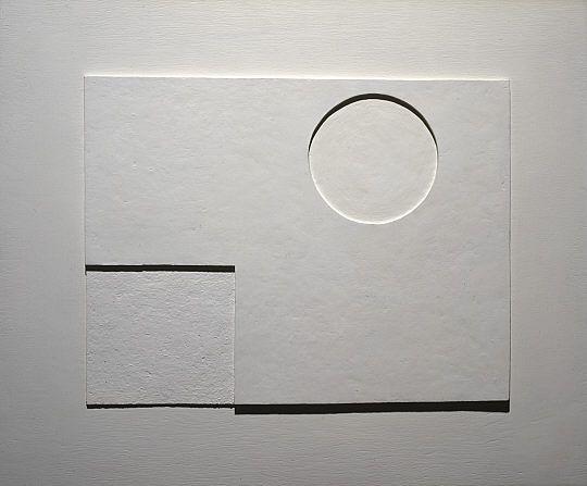 \><\  Ben Nicholson: White relief