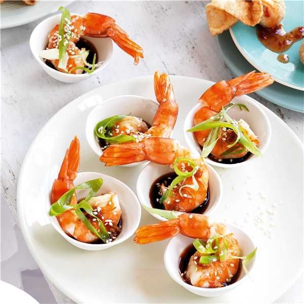 Try our easy to follow asian ginger, soy sauce & sesame prawns recipe. Absolutely delicious with the best ingredients from Woolworths.