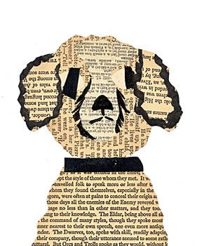 portuguese water dog piece