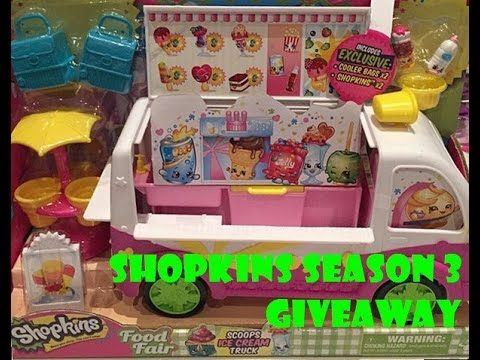 Subscribe to our YT channel to win Shopkins Season 3 prize(s) when they are available?