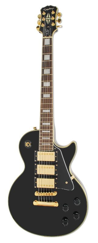 Epiphone Black Beauty. It's so gorgeous! I am also getting this for Christmas and possibly a Marshall half stack