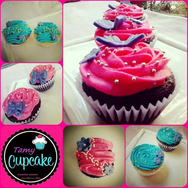 Cupcake siempre una buena idea... <3 <3 <3