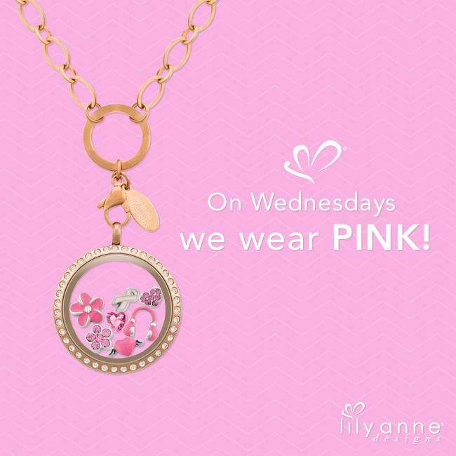 Happy Hump Day!!! #lilyannedesigns #lisalsockets #lisaslocketsandcharms #wednesday #humpday #pink