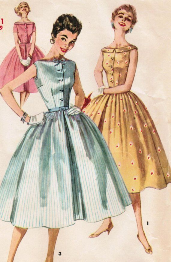 700 best RETRO / PATTERNS 7 images on Pinterest | Vintage fashion ...
