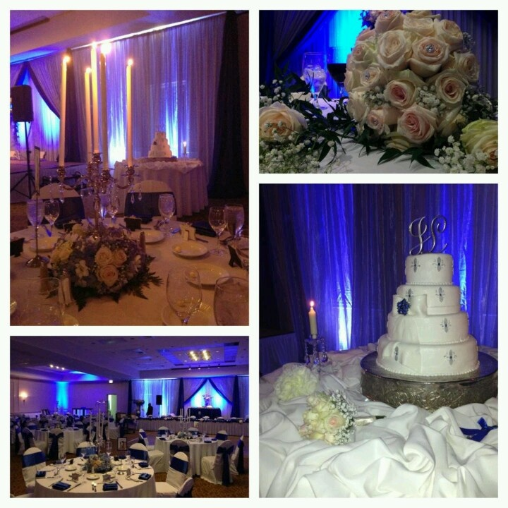 1000 images about royal blue wedding decoration on