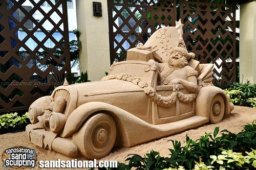 Holiday Sand sculpture 2014