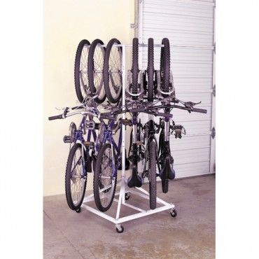 Trying to figure out how to store the bikes...here's one idea