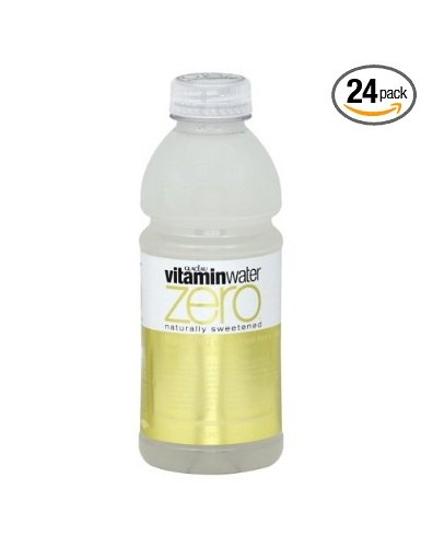 Glaceau Vitamin Water Zero, Squeezed, 20-Ounce Bottle - only 7 carbs!
