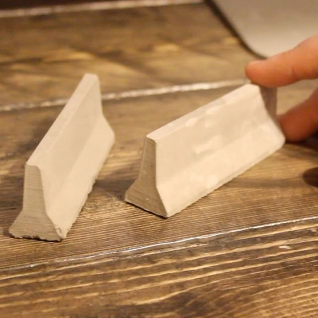 Brand new! 1:24 Jersey Barriers! These things are super cool. Link in bio! #minimaterials #miniature #jerseybarriers #mini #diy #scalemodels #concrete #diecast #finerboarding