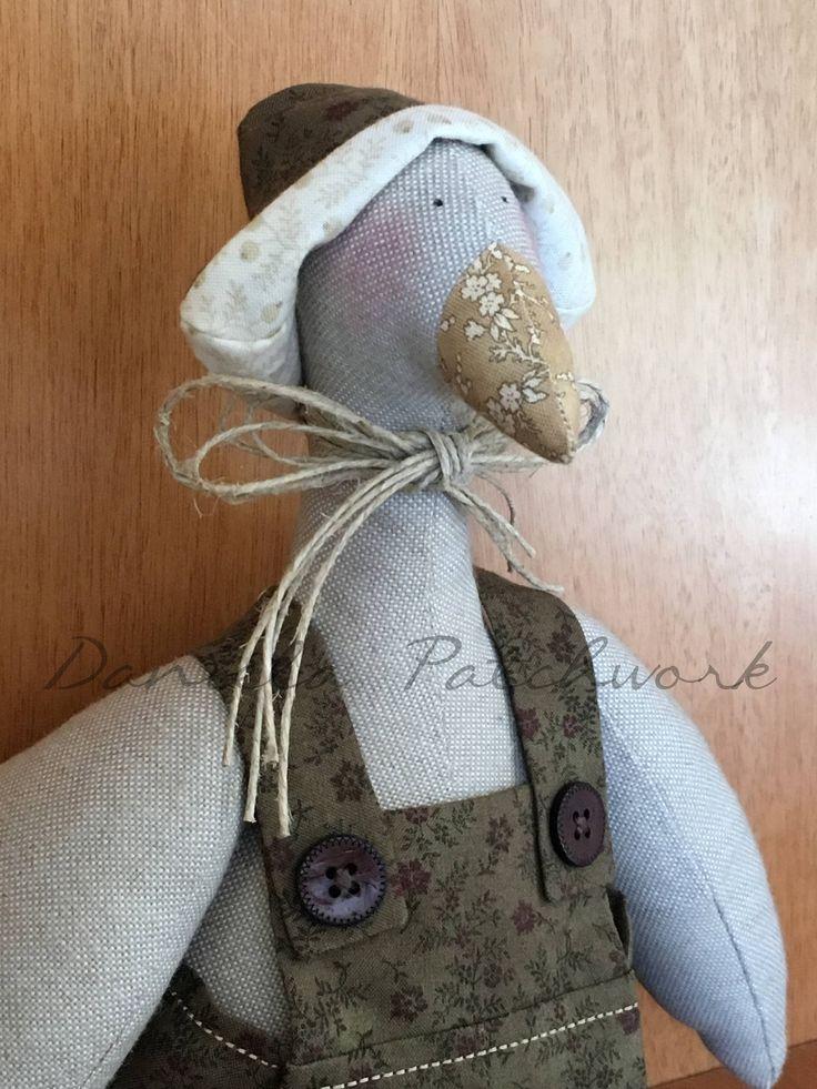 Tilda doll, Papera Tilda, Bambola country. di DanielaPatchwork su Etsy