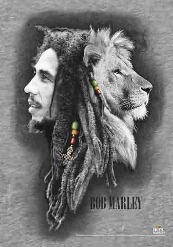 Bob Marley - Lion Face thinking this should my next tattoo.